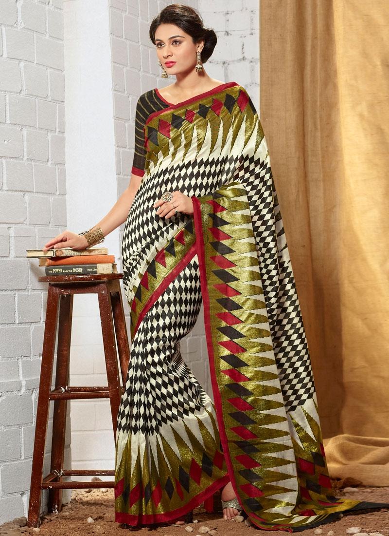Superlative Art Silk Casual Saree