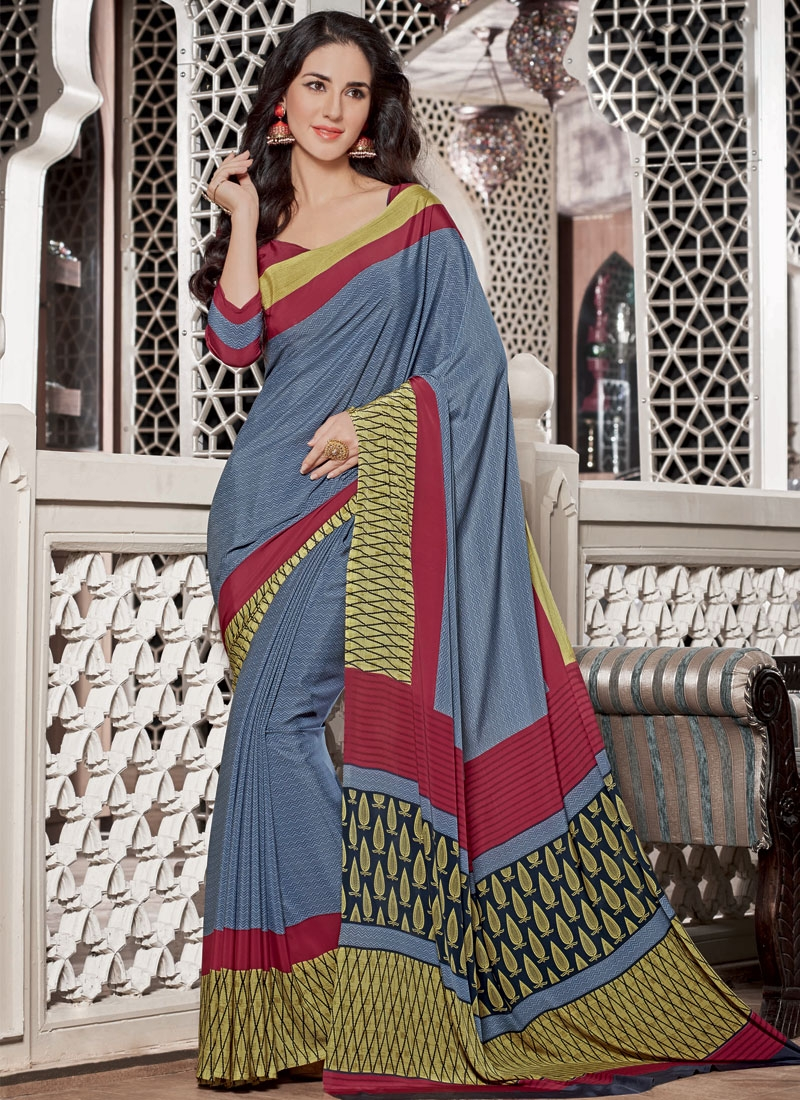 Superlative Printed Casual Saree
