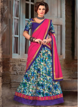 Surpassing Bhagalpuri Silk Party Wear Lehenga Choli