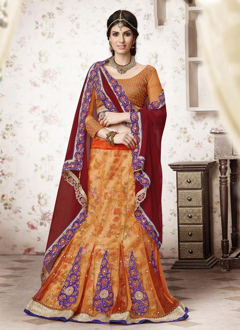 Surpassing Booti And Resham Work Designer Lehenga Choli
