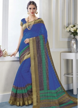 Surpassing Print Work Trendy Classic Saree