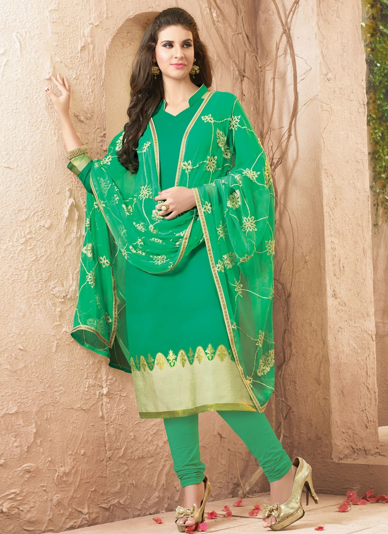 Surpassing Resham Work Casual Salwar Suit