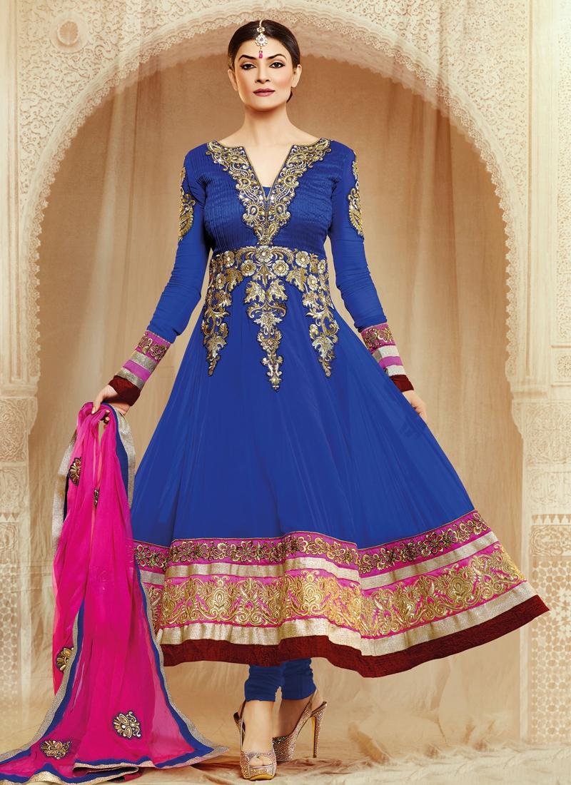 Sushmita Sen Resham Enhanced Salwar Suit