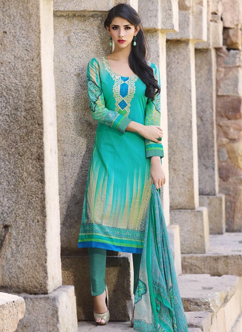 Swanky Digital Print Work Pant Style Party Wear Salwar Suit