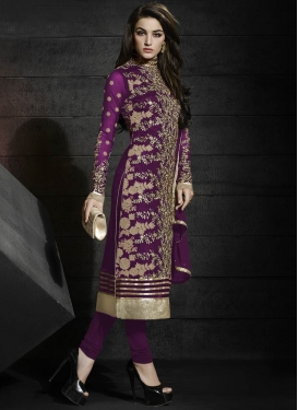 Swanky Sequins Work Designer Suit