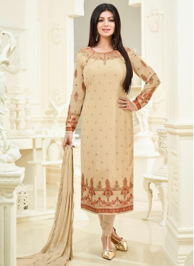 Sweetest Ayesha Takia Faux Georgette Long Length Pakistani Salwar Suit