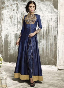 Tafeta Silk  Pant Style Classic Suit For Ceremonial