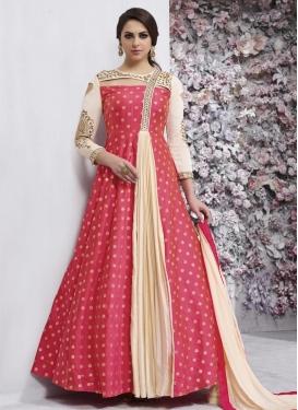 Tafeta Silk Trendy Designer Salwar Kameez For Ceremonial