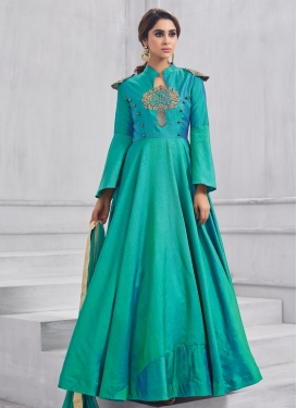 Tafeta Silk Trendy Designer Salwar Kameez For Ceremonial
