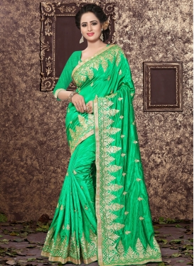 Talismanic Art Silk Traditional Saree For Ceremonial