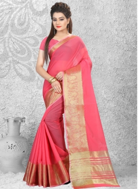 Talismanic  Cotton Silk Trendy Designer Saree