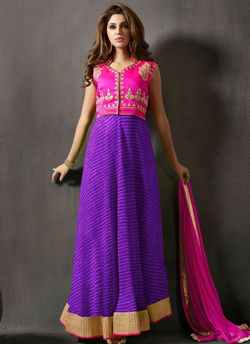 Talismanic Lace Work Jacket Style Designer Salwar Kameez
