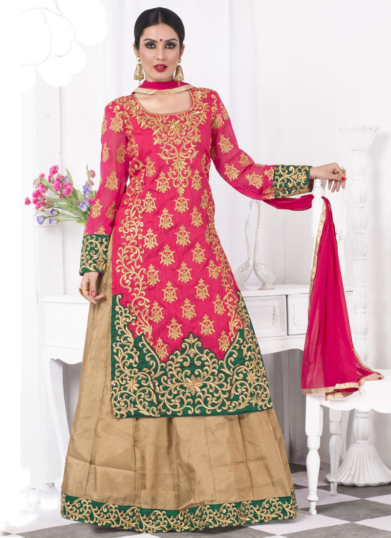 Tempting Bhagalpuri Silk Party Wear Lehenga Choli
