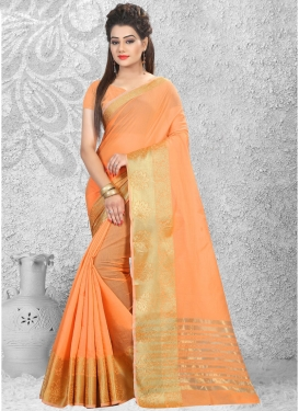 Tempting Cotton Silk Classic Saree
