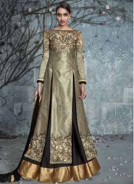 Tempting Silk Kameez Style Designer Lehenga Choli