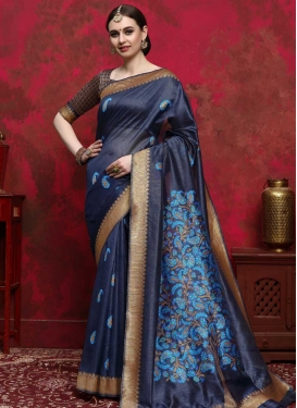 Thread Work Designer Contemporary Style Saree