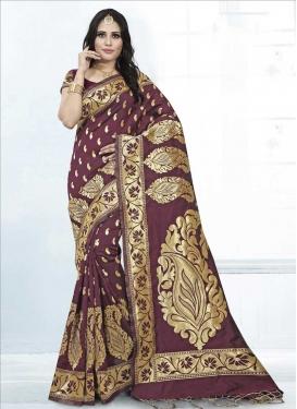 Thread Work Designer Traditional Saree