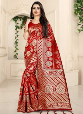 Thread Work Designer Traditional Saree