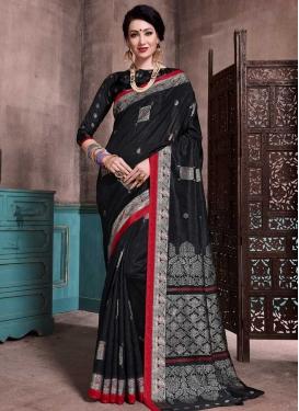 Thread Work Patola Silk Classic Saree For Casual