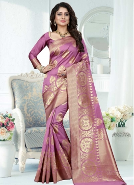 Thread Work Trendy Saree