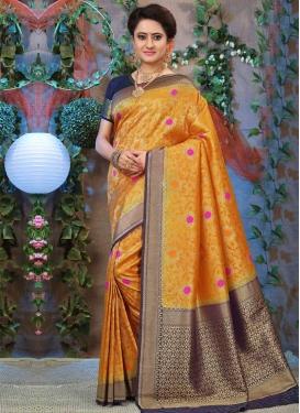 Thread Work Trendy Saree