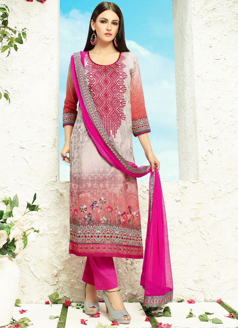 Thrilling Embroidery Work Palazzo Style Party Wear Salwar Suit