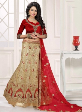 Tiptop A - Line Lehenga For Bridal