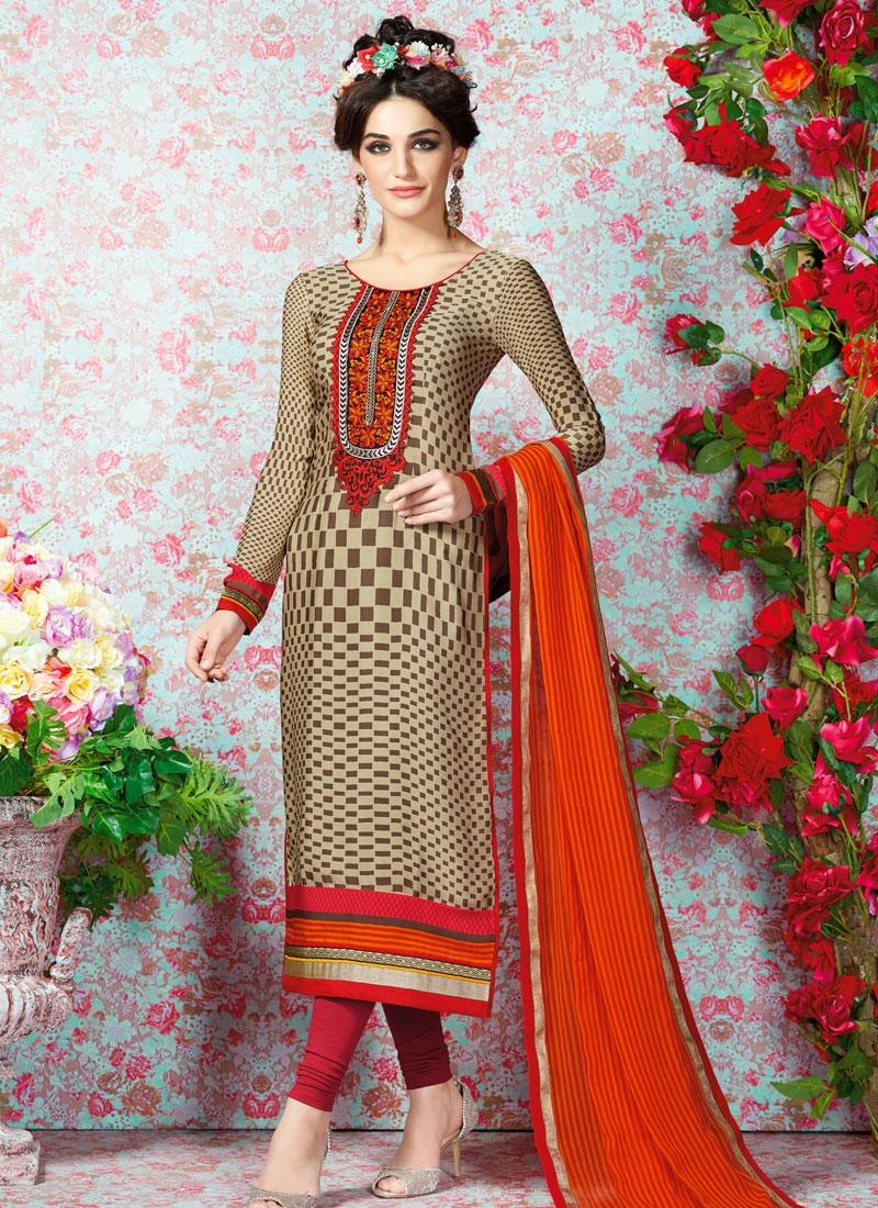Tiptop Crepe Silk Casual Salwar Kameez