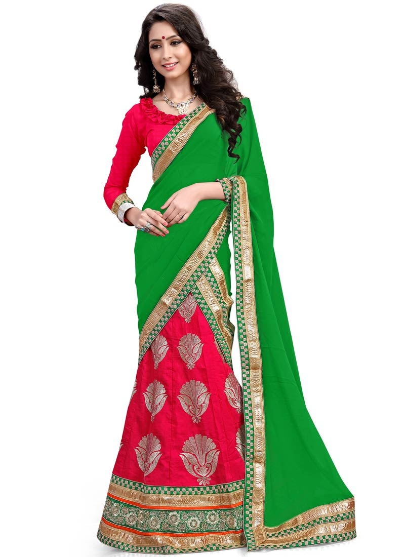Tiptop Patch Border Work Designer Lehenga Choli