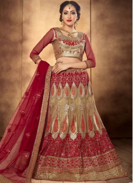 Tiptop Sequins And Booti Work Bridal Lehenga Choli