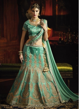 Tiptop  Silk Booti Work Lehenga Choli