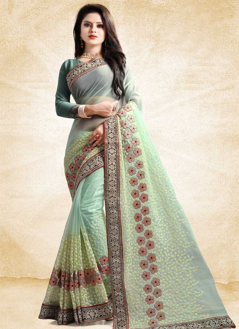 Tissue Contemporary Style Saree For Ceremonial