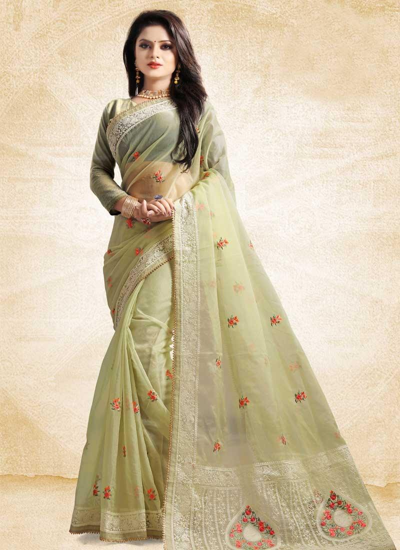 Tissue Designer Traditional Saree