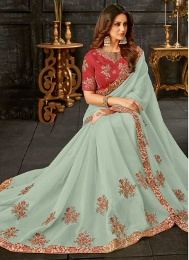 Tissue Trendy Classic Saree For Festival