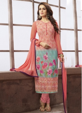 Transcendent  Chicken Work Pakistani Salwar Suit