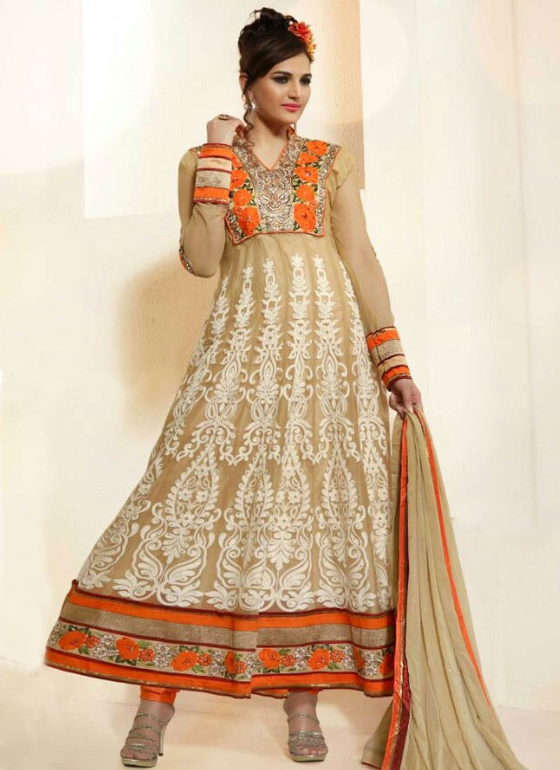 Transcendent Floral And Booti Work Designer Salwar Kameez