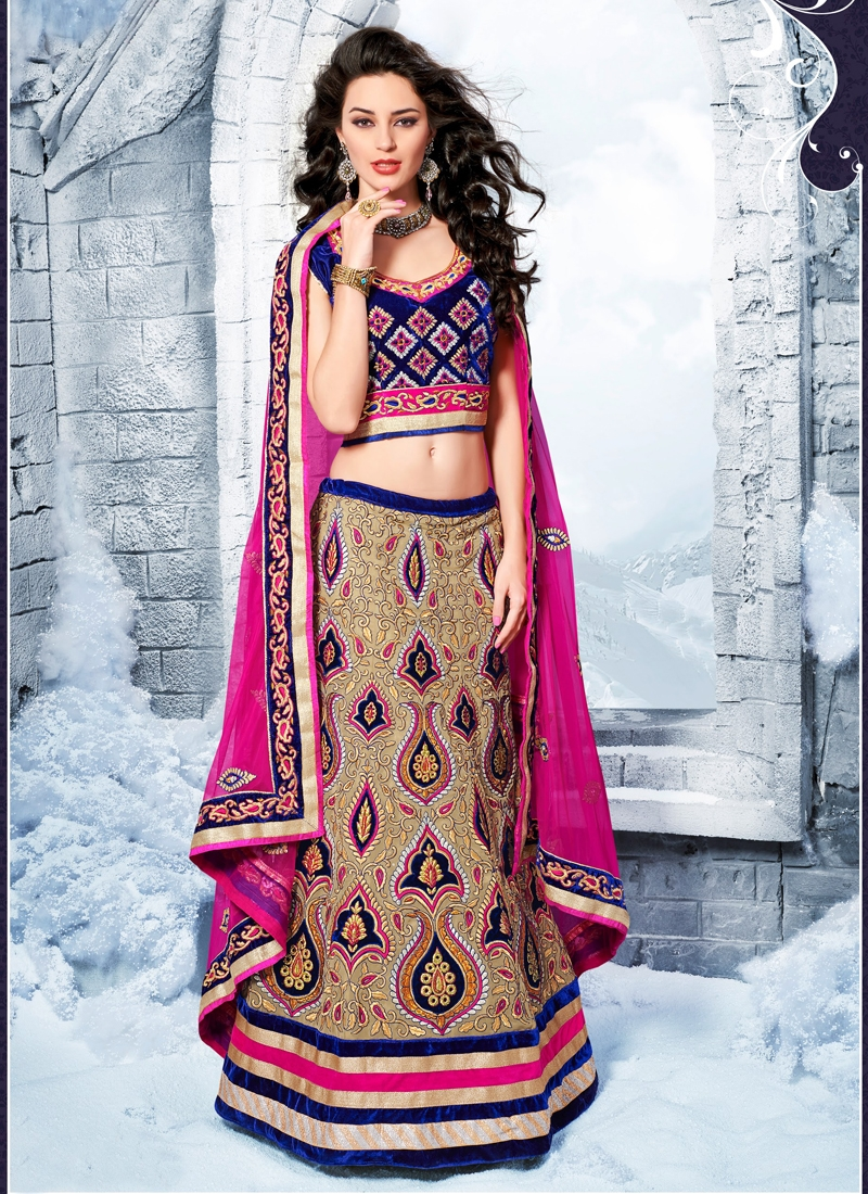Transcendent Georgette Wedding Lehenga Choli