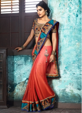 Transcendent  Traditional Designer Saree For Ceremonial