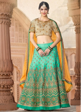 Trendy A Line Lehenga Choli For Festival
