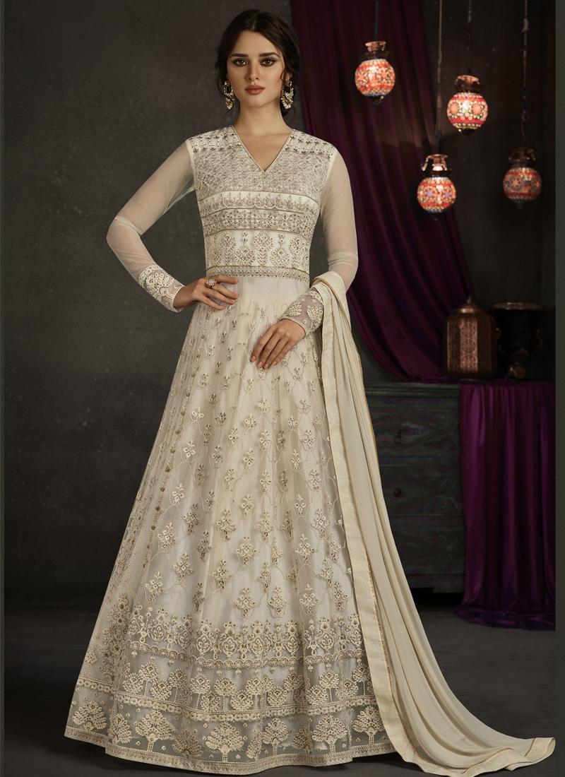Trendy Anarkali Salwar Suit For Festival