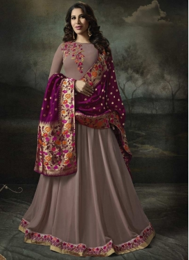 Trendy Anarkali Salwar Suit For Festival