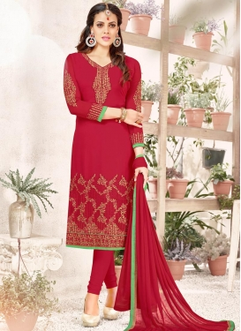 Trendy Churidar Salwar Kameez For Festival