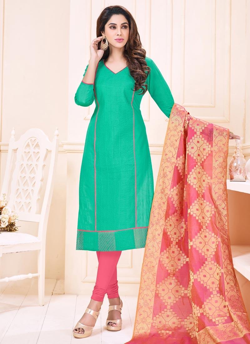 Shop Trendy Churidar Salwar Suit For Casual Online