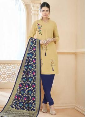 Trendy Churidar Salwar Suit For Casual