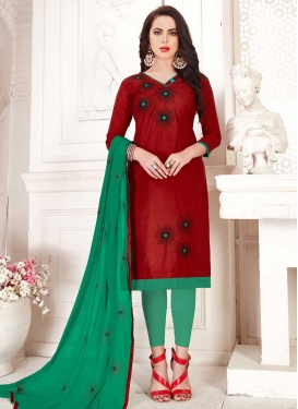Trendy Churidar Suit For Ceremonial
