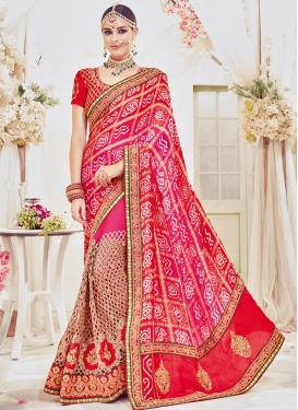 Trendy Classic Saree For Bridal
