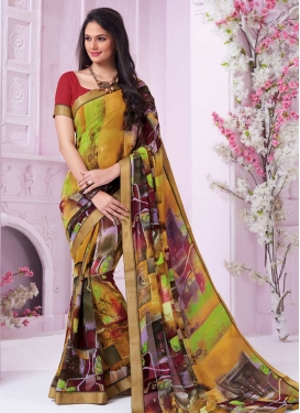 Trendy Classic Saree For Festival