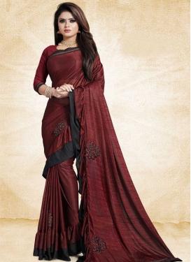 Trendy Designer Saree For Ceremonial