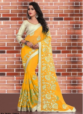 Trendy Designer Saree For Festival