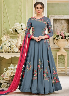 Trendy Kalidar Salwar Kameez For Ceremonial